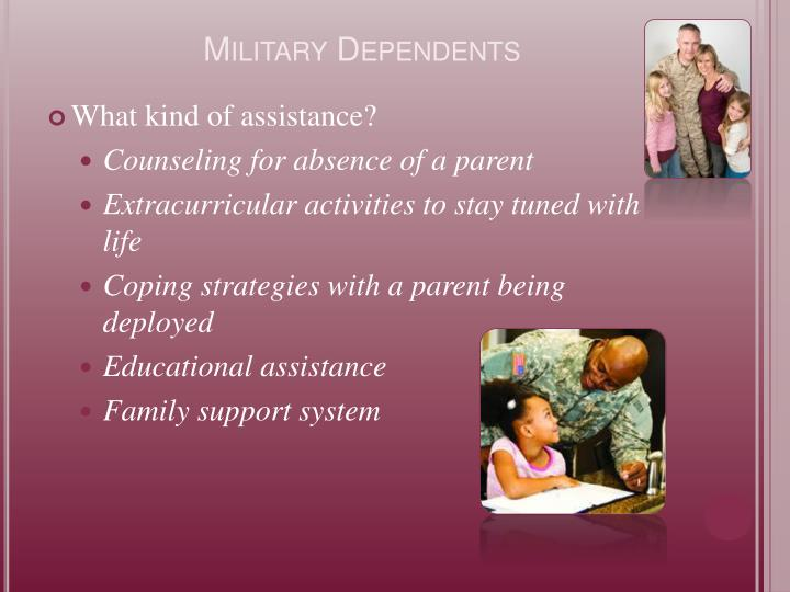 Military Dependents