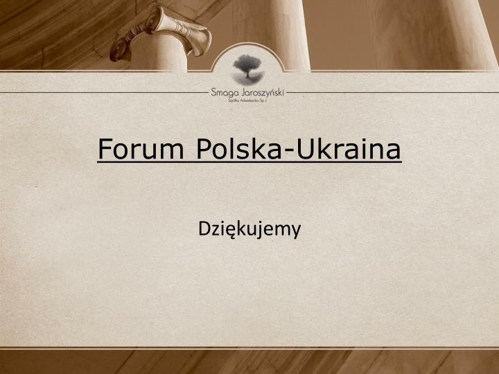 Forum Polska-Ukraina