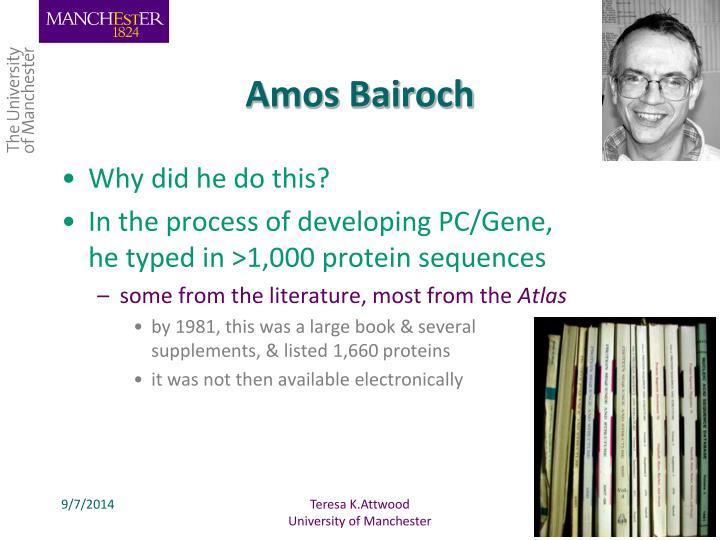 Amos Bairoch