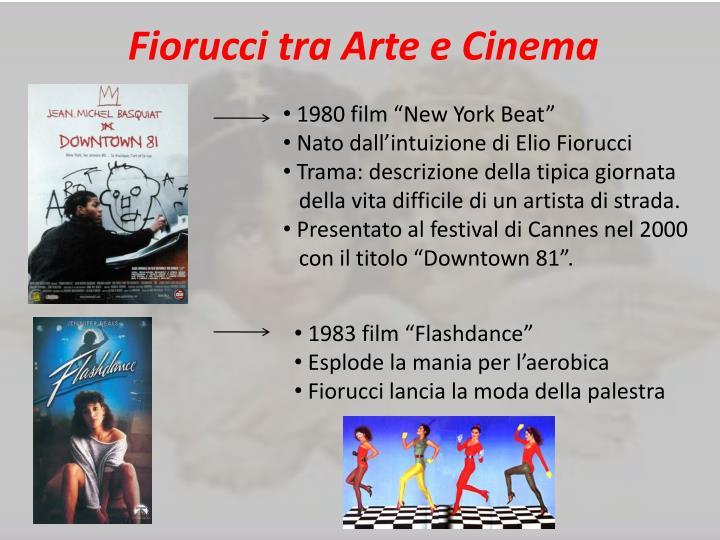 Fiorucci tra Arte e Cinema