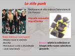 lo stile punk