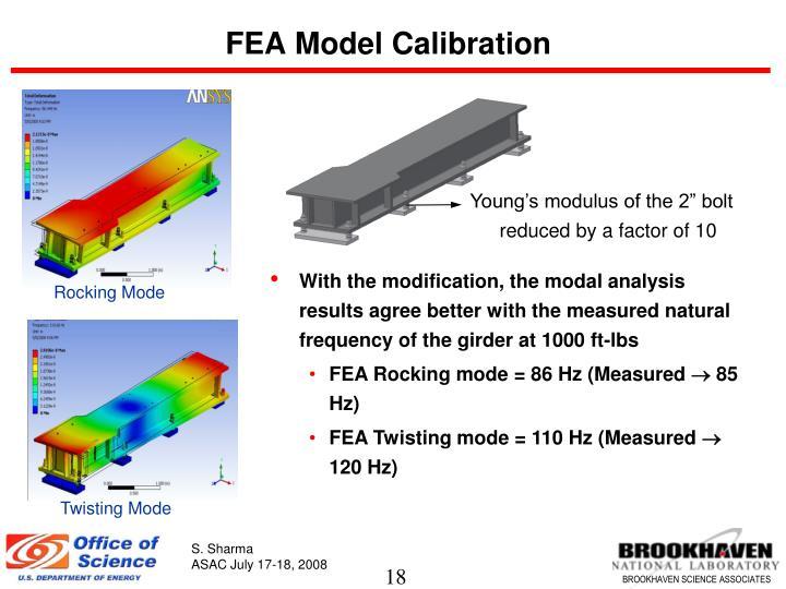 FEA Model Calibration