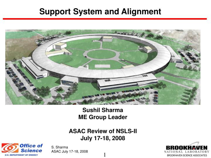 Support System and Alignment