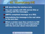 3 internalizing ihe