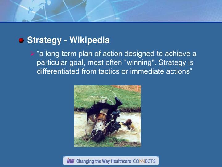 Strategy - Wikipedia