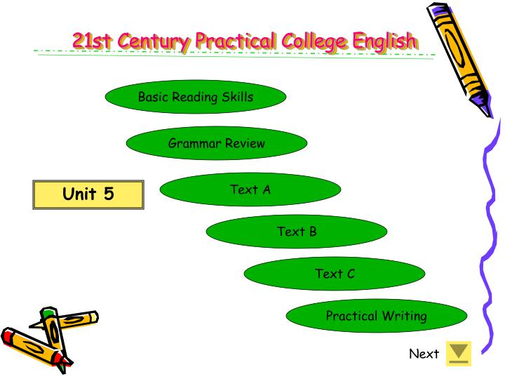 21st Century Practical College English