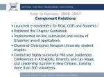 year in review 2006 2007 component relations