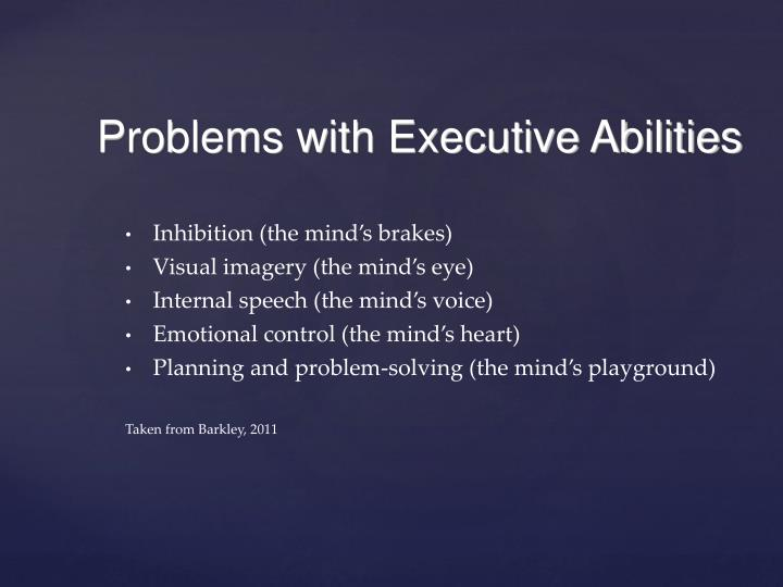 Inhibition (the mind's brakes)