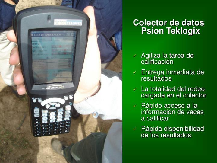 Colector de datos Psion Teklogix