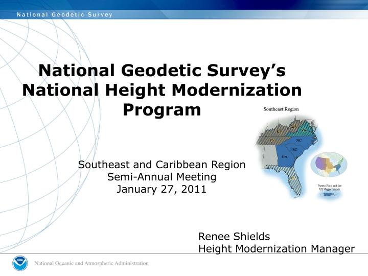 National Geodetic Survey's