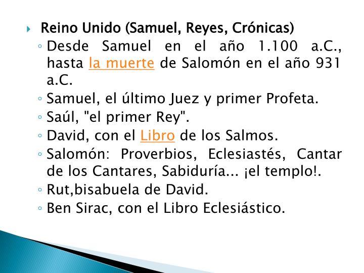 Reino Unido (Samuel, Reyes,