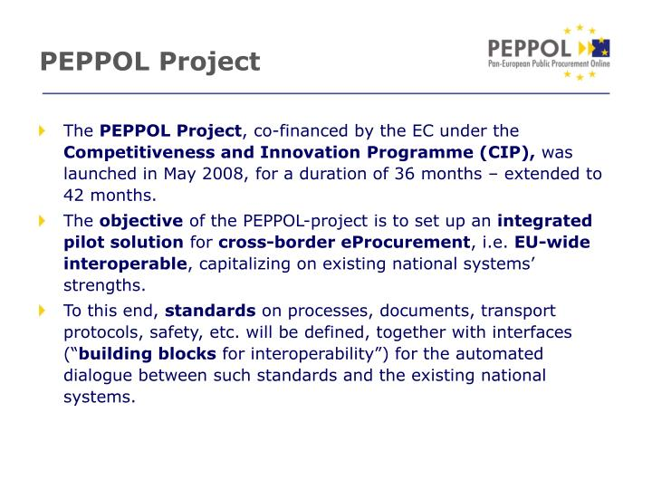 Peppol project