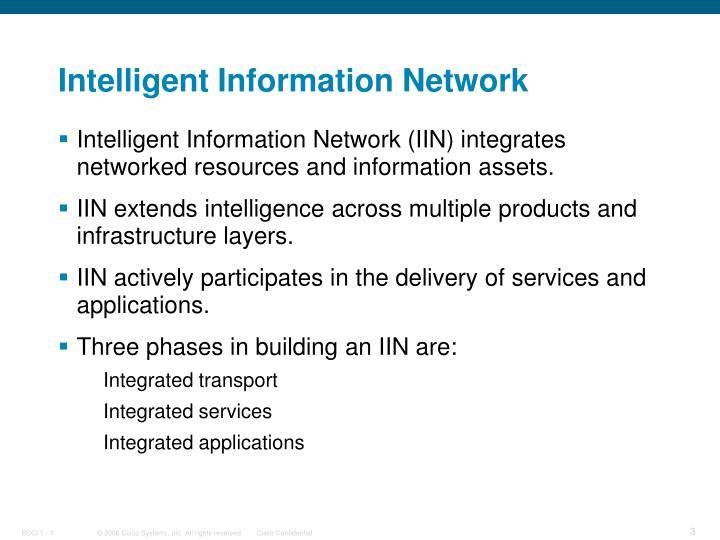 Intelligent Information Network