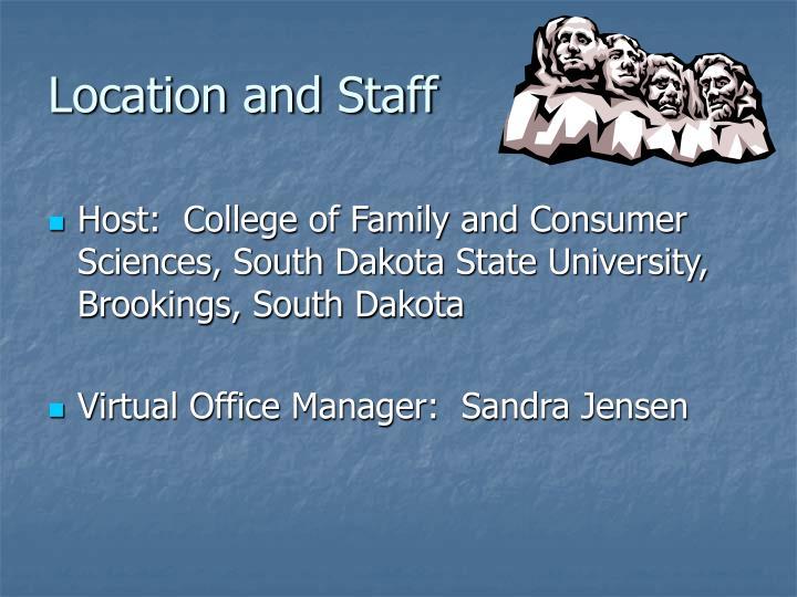 Location and Staff