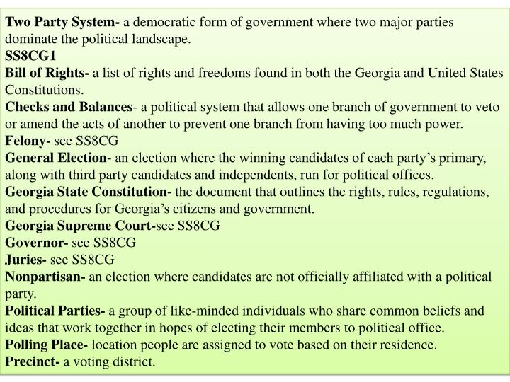 Two Party System-