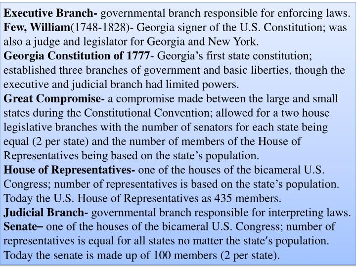 Executive Branch-