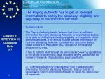 closure of interreg iii guidance note 5 7