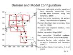domain and model configuration