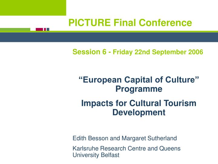 Picture final conference