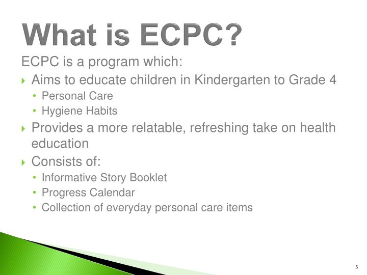 What is ECPC?