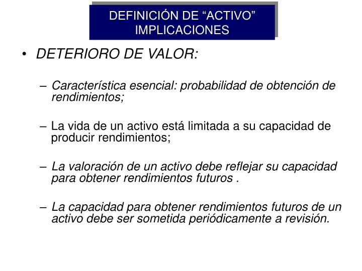 """DEFINICIÓN DE """"ACTIVO"""""""