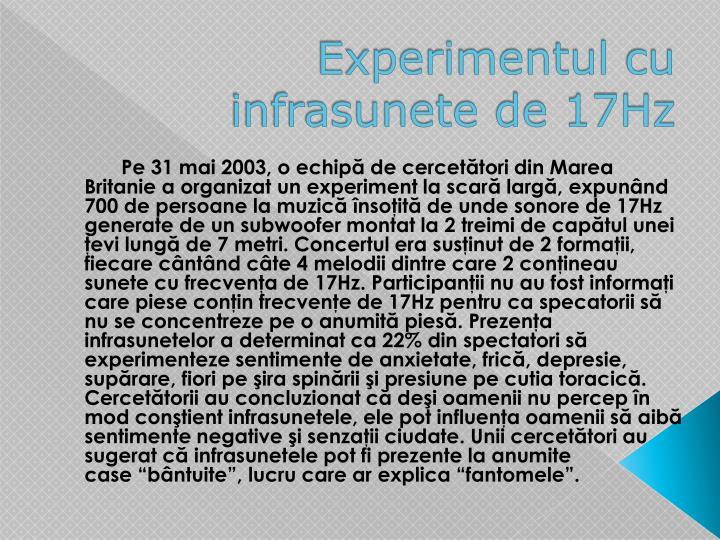 Experimentul