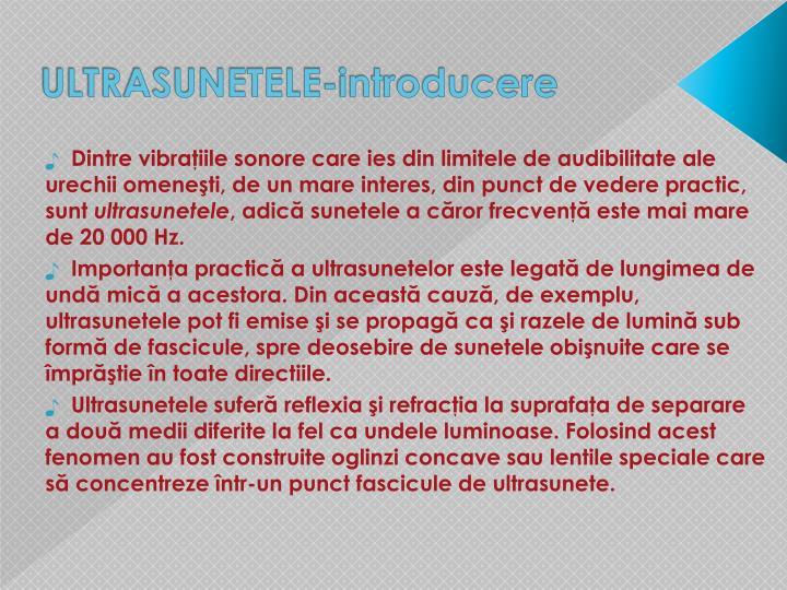 ULTRASUNETELE-