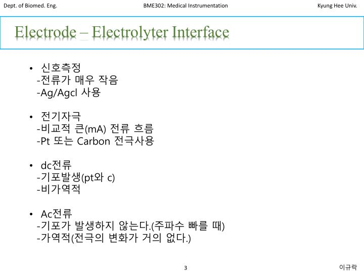 Electrode –