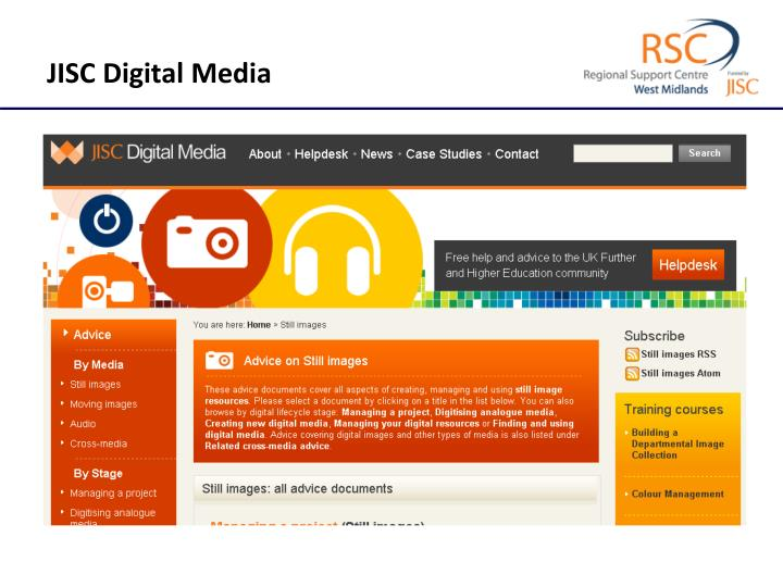 JISC Digital Media