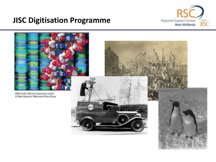 JISC Digitisation Programme