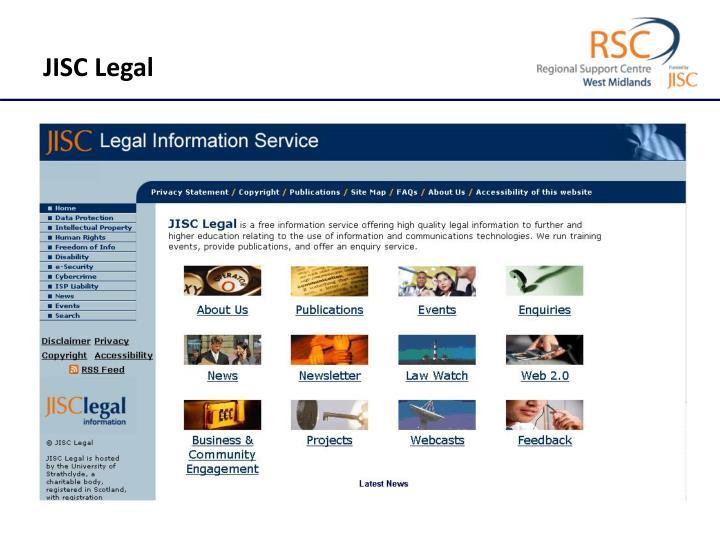 JISC Legal