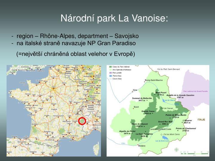 Národní park La Vanoise:
