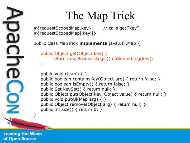 The Map Trick
