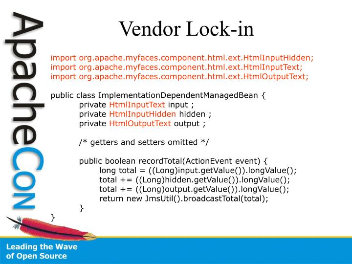 Vendor Lock-in