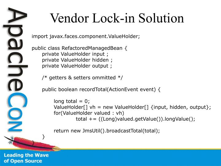 Vendor Lock-in Solution