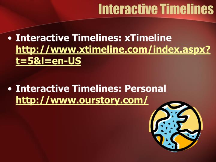 Interactive Timelines