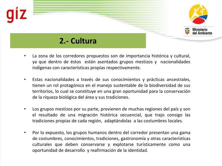 2.- Cultura