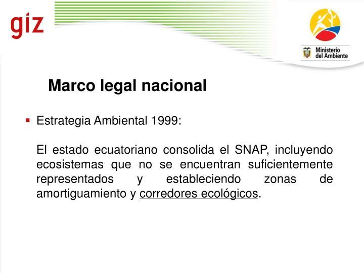 Marco legal nacional
