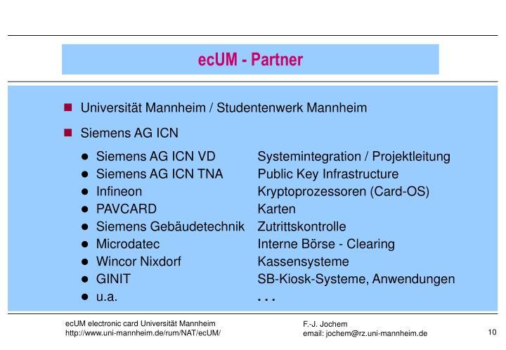 Universität Mannheim / Studentenwerk Mannheim