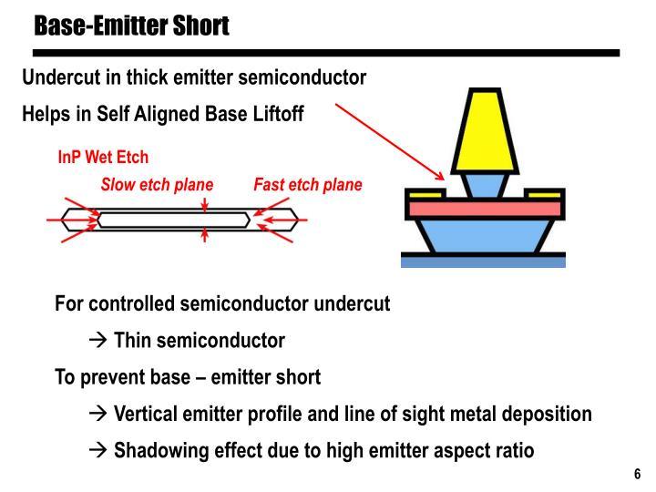 Base-Emitter Short