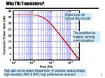 why thz transistors