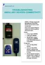 troubleshooting ancillary devices connectivity