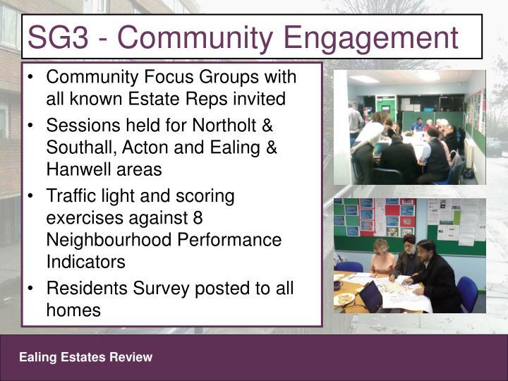 SG3 - Community Engagement
