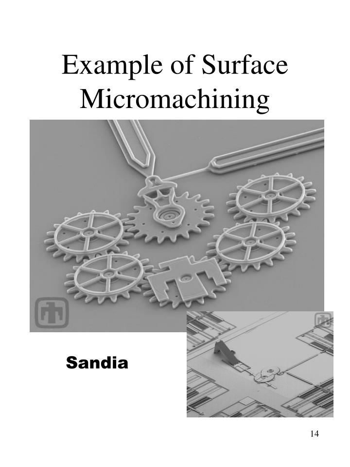 Example of Surface Micromachining