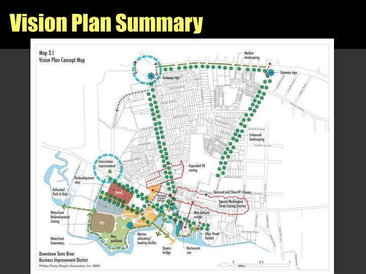 Vision Plan Summary