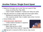 another failure single event upset