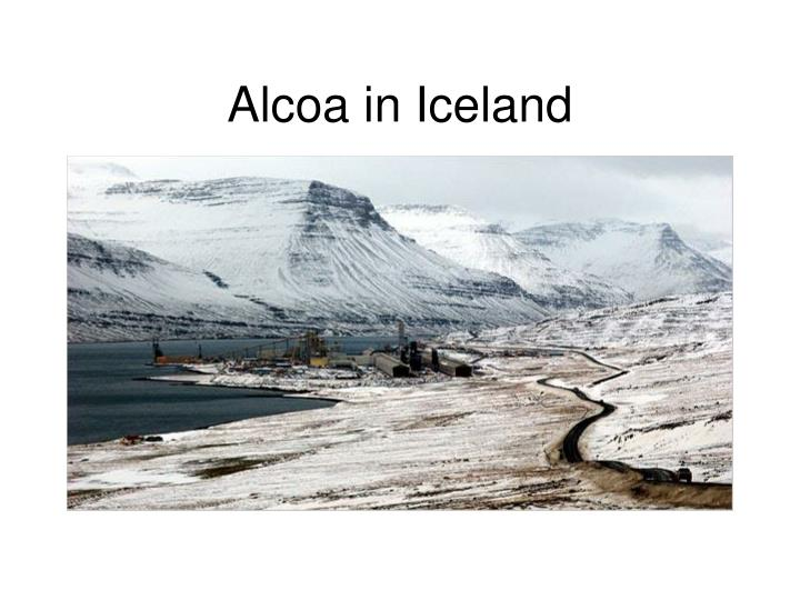 Alcoa in Iceland