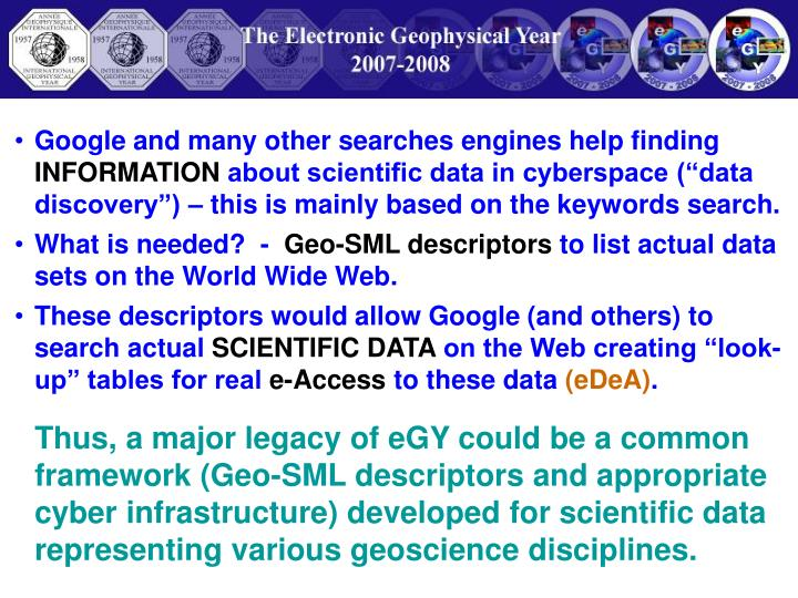 Google and many other searches engines help finding