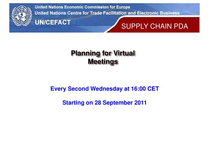 Planning for Virtual