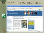 private grant resources3